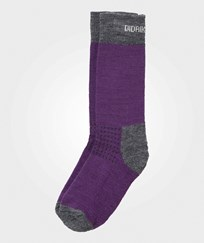 Didriksons Fotis Kid's Wool/Terry Socks Amaranth Amaranth
