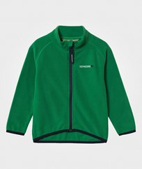 Didriksons Monte Kid's Microfleece Jacket Jello Green Jello gree