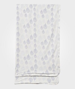 Hust&Claire Baby Blanket Bamboo White/Blue