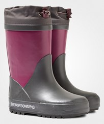 Didriksons Slush Kid's Winter Boots Dark Lilac Dark lilac