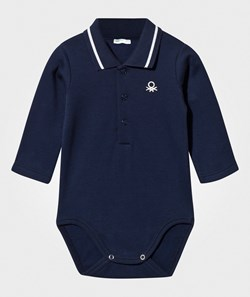 United Colors of Benetton Polo Shirt Body Navy
