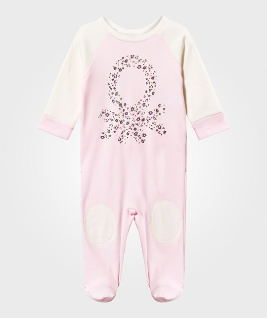 United Colors of Benetton Footed Baby Body Pink Pink