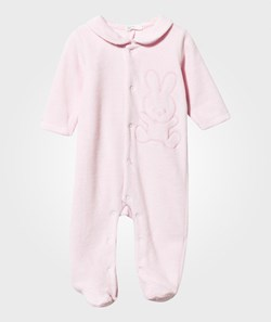 United Colors of Benetton Bunny Footed Baby Body With Collar Pink
