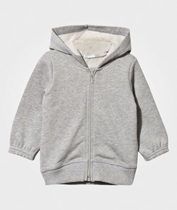 United Colors of Benetton Hooded Bear Jacket Grey