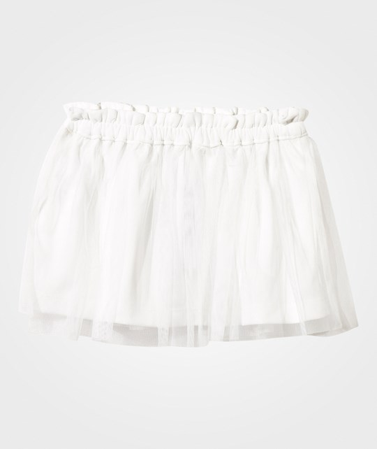United Colors of Benetton Tulle Skirt White White