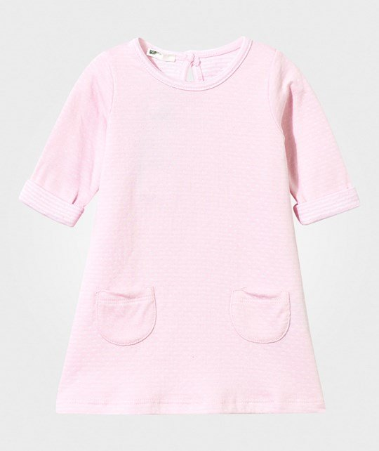 United Colors of Benetton Dress with Pockets Pink Pink
