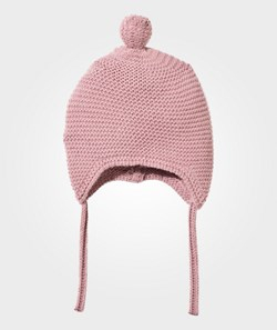 United Colors of Benetton Knitted Baby Hat Pink