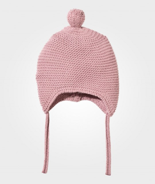 United Colors of Benetton Knitted Baby Hat Pink Pink