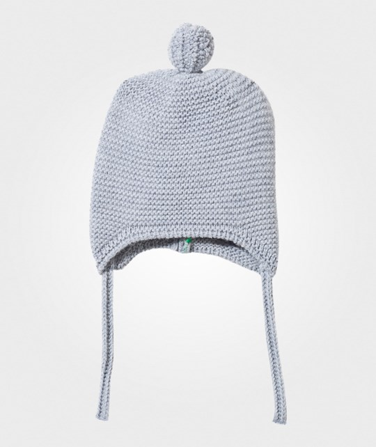 United Colors of Benetton Knitted Baby Hat Blue Blue