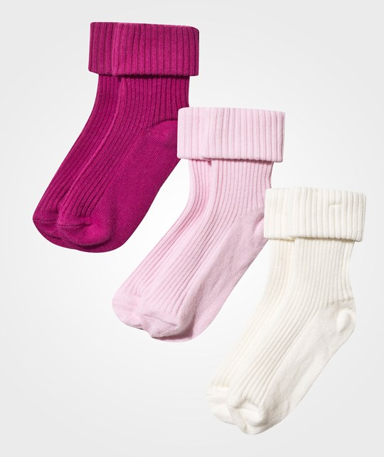 United Colors of Benetton Socks 3-pack Pink Pink