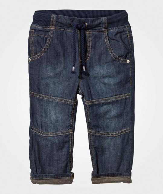 United Colors of Benetton Jersey Denim Blue Blue
