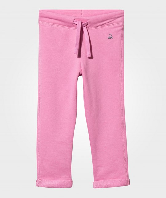 United Colors of Benetton Basic Sweatpants Pink Pink