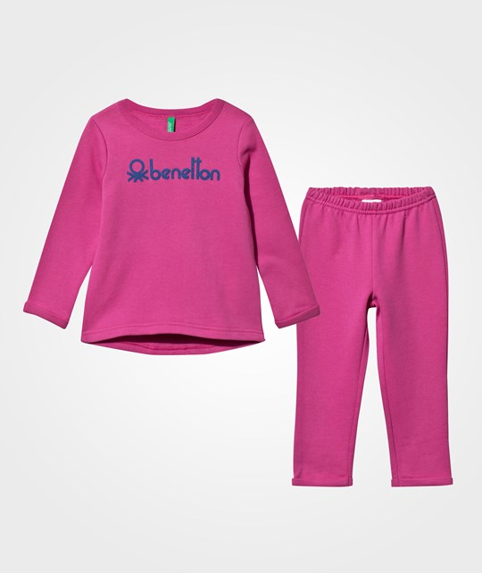United Colors of Benetton Sweat Set  Pink Pink