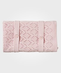 United Colors of Benetton Knitted Blanket Pink Pink