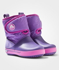 Crocs Crocband II.5 Gust Boot Kids Blue Violet/Wild Orchid Purple