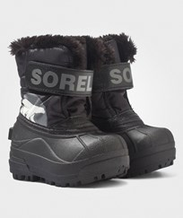 Sorel Toddler Snow Commander™ Boots Black, Charcoal Black, Charcoal