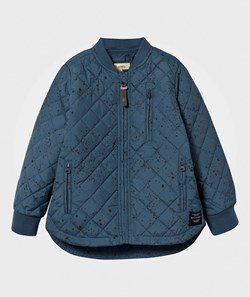 Soft Gallery Michell Thermo Jacket Majolica Blue/Black Cosmo