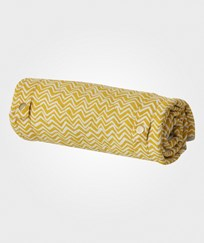 ferm LIVING Curry Wave Changing Blanket Curry Wave