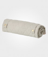 ferm LIVING Grey Cross Changing Blanket Grey Cross