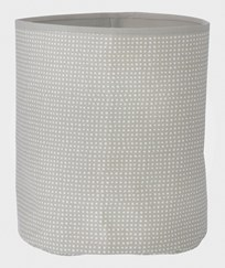 ferm LIVING Grey Cross Basket - Medium Grey Cross