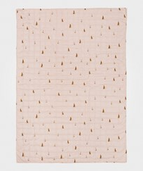 ferm LIVING Cone Quilted Blanket - Rose Multi