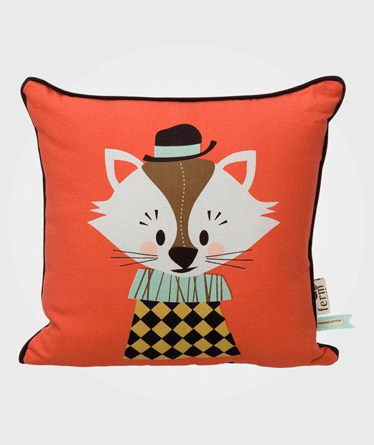 ferm LIVING Aristo Katt Cushion Katt