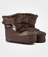 Lindberg Booties Wool Brown BROWN