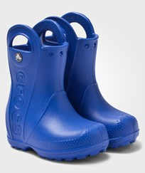 Crocs Handle It Rain Boot Kids Sea Blue Blå
