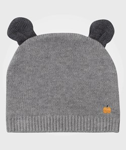 The Bonnie Mob Elky Hat with Ears Grey