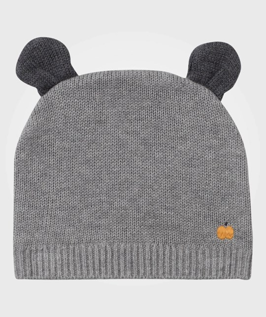 The Bonnie Mob Elky Hat with Ears Grey Black