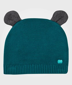 The Bonnie Mob Elky Hat with Ears Teal