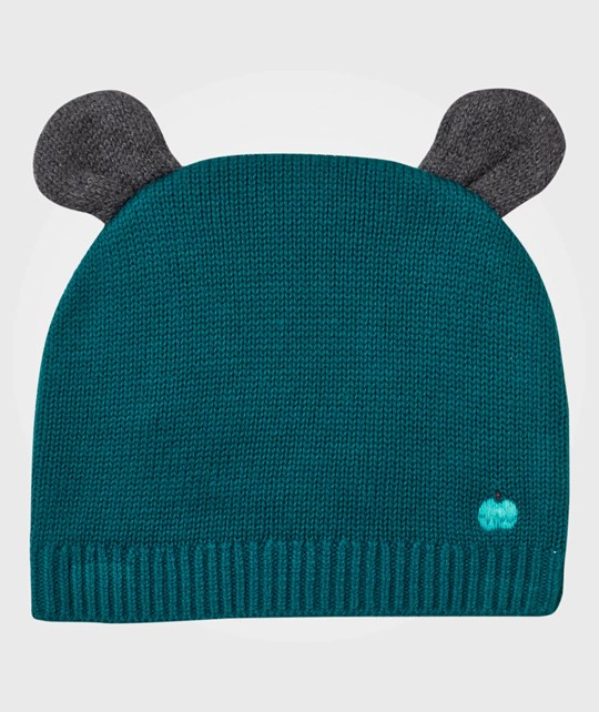 The Bonnie Mob Elky Hat with Ears Teal Teal