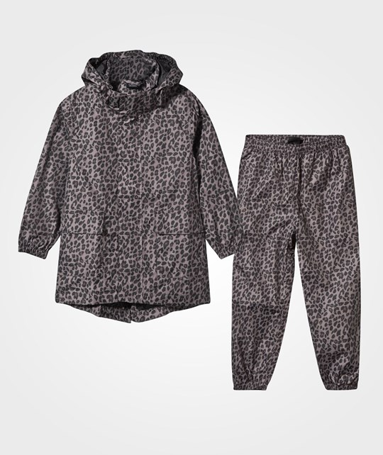 Petit by Sofie Schnoor Rain Set Jacket + Pants Leo Leo
