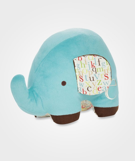 Skip Hop ABC Plush Elephant Blue