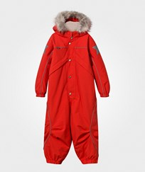 Molo Polaris Fur Snowsuit True Red True Red
