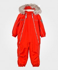 Molo Pyxis Fur Snowsuit True Red True Red
