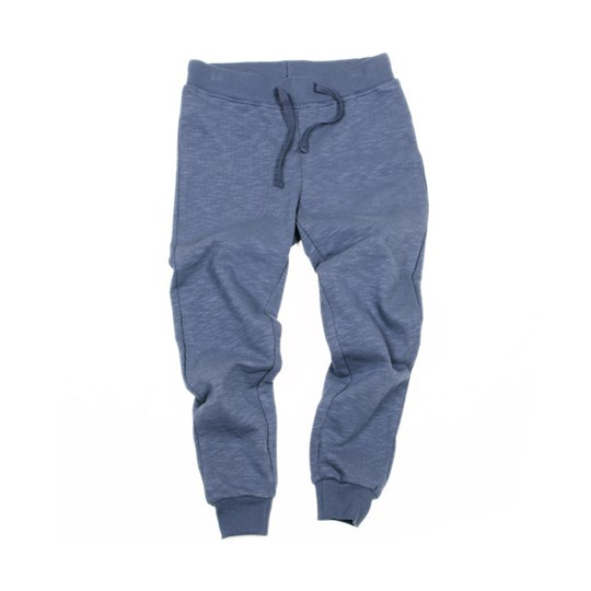 Mini Rodini Sweat Pants Terry Blue Blue