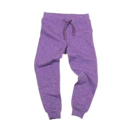 Mini Rodini Sweat Pants Terry Purple Purple