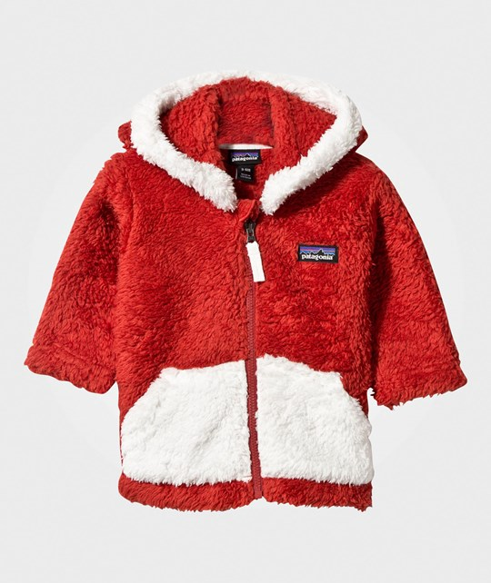 Patagonia Baby Furry Friends Hoody Ramble Red Ramble Red