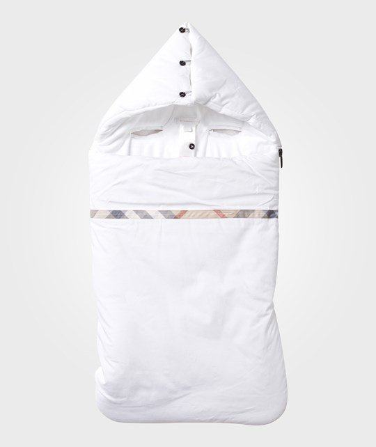 Burberry Baby Sleeping Bag White
