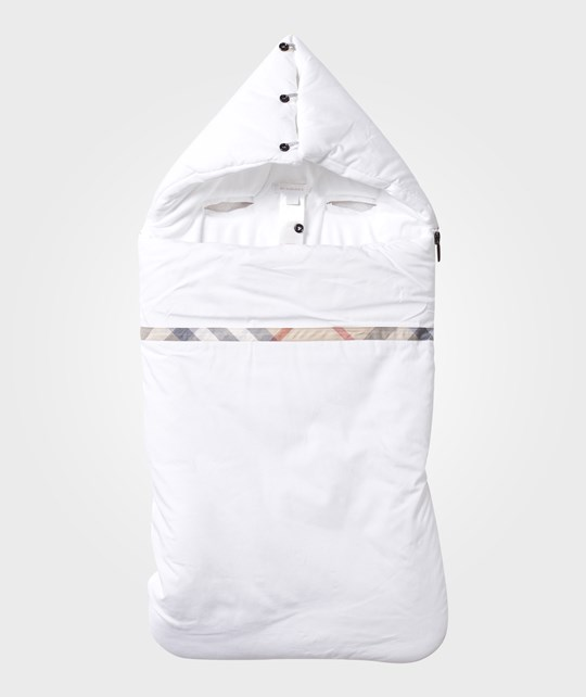 new styles 66277 b0076 Burberry - Baby Sleeping Bag White - Babyshop.com