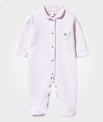 Livly Jaquard Onesie Dotted Pink dotted pink jaquard