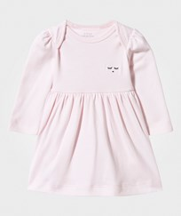 Livly Long Sleeve Dress Baby Pink baby pink/ black