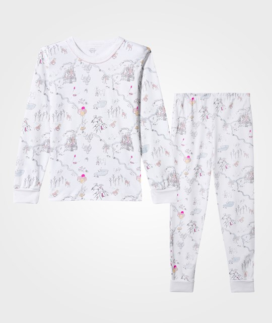 Livly 2-dels Barn Pyjamas Set Princess Land Rosa princess land pink
