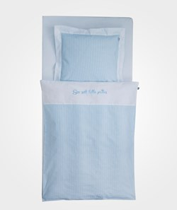 Borås Cotton Royal Bed Set Light Blue