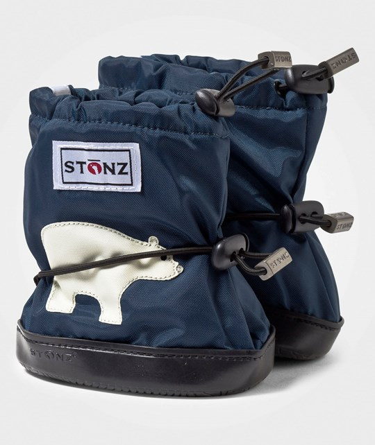 Stonz Booties PLUSfoam Polar Bear NavyBlue Polar Bear