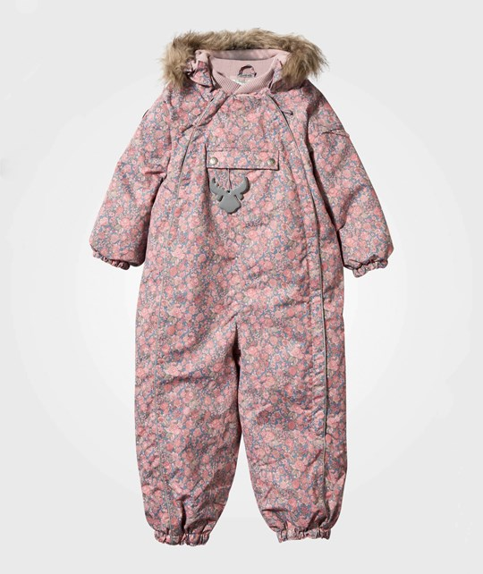 Wheat Snowsuit Fur Flower Multi