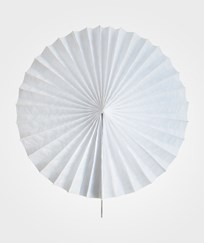 My Little Day Pinwheel Paper Fan - White White