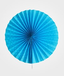 My Little Day Pinwheel Paper Fan - Blue Blue