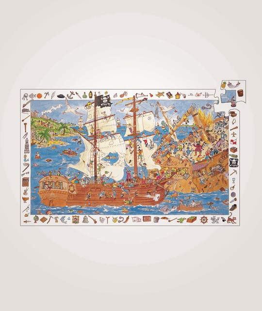 Djeco Observation Puzzle Pirates